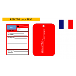 100 red tags for TPM