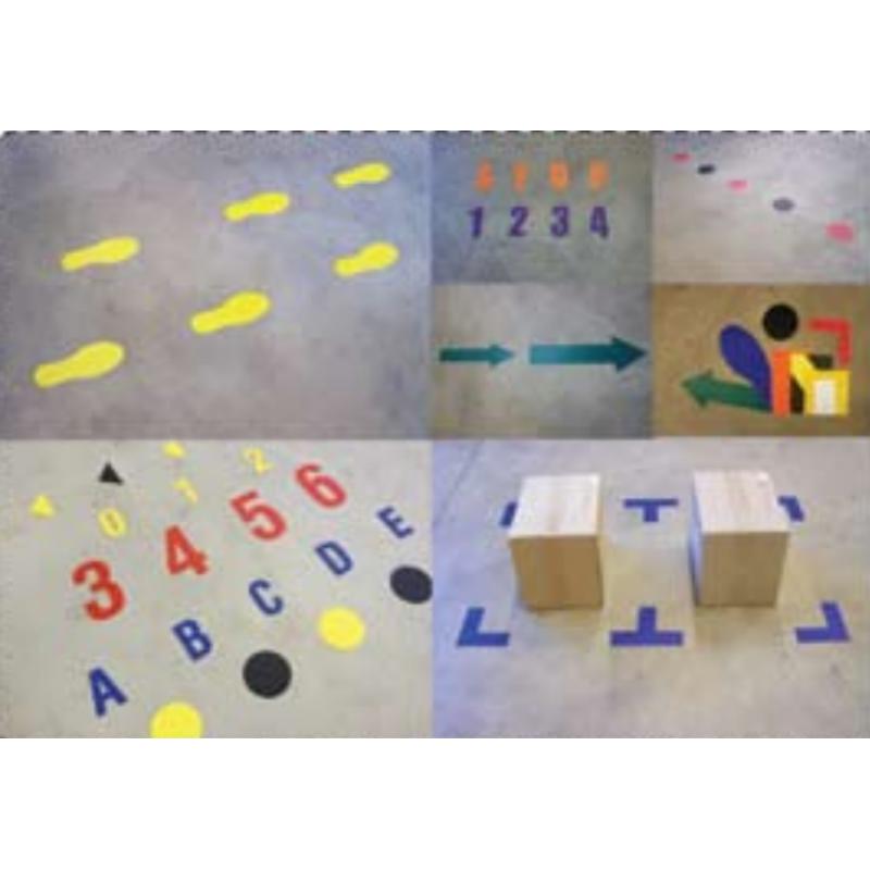 diverse adhesive signs