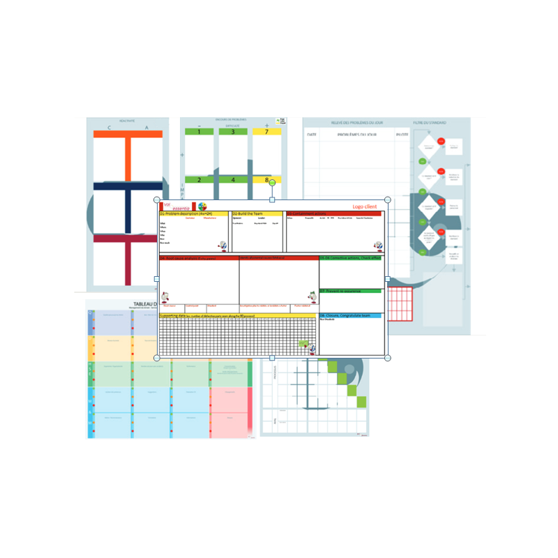 Easy Dot sheet board
